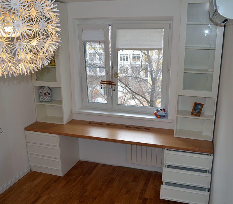 Шкаф вокруг окна: современное решение жилищных проблем.