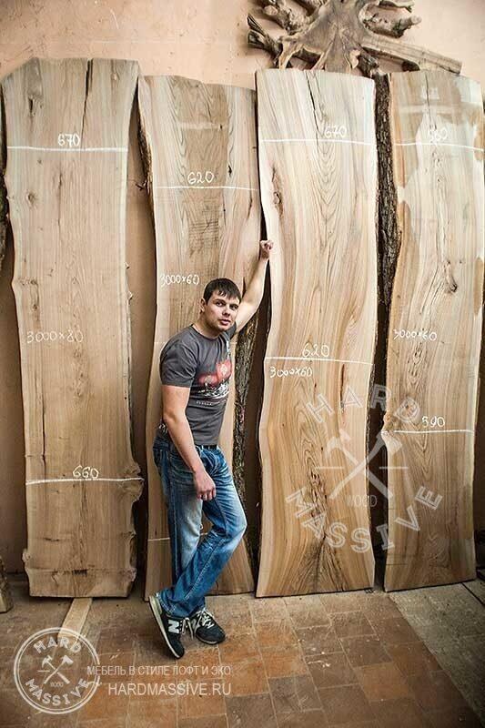 Слэбы из дерева купить