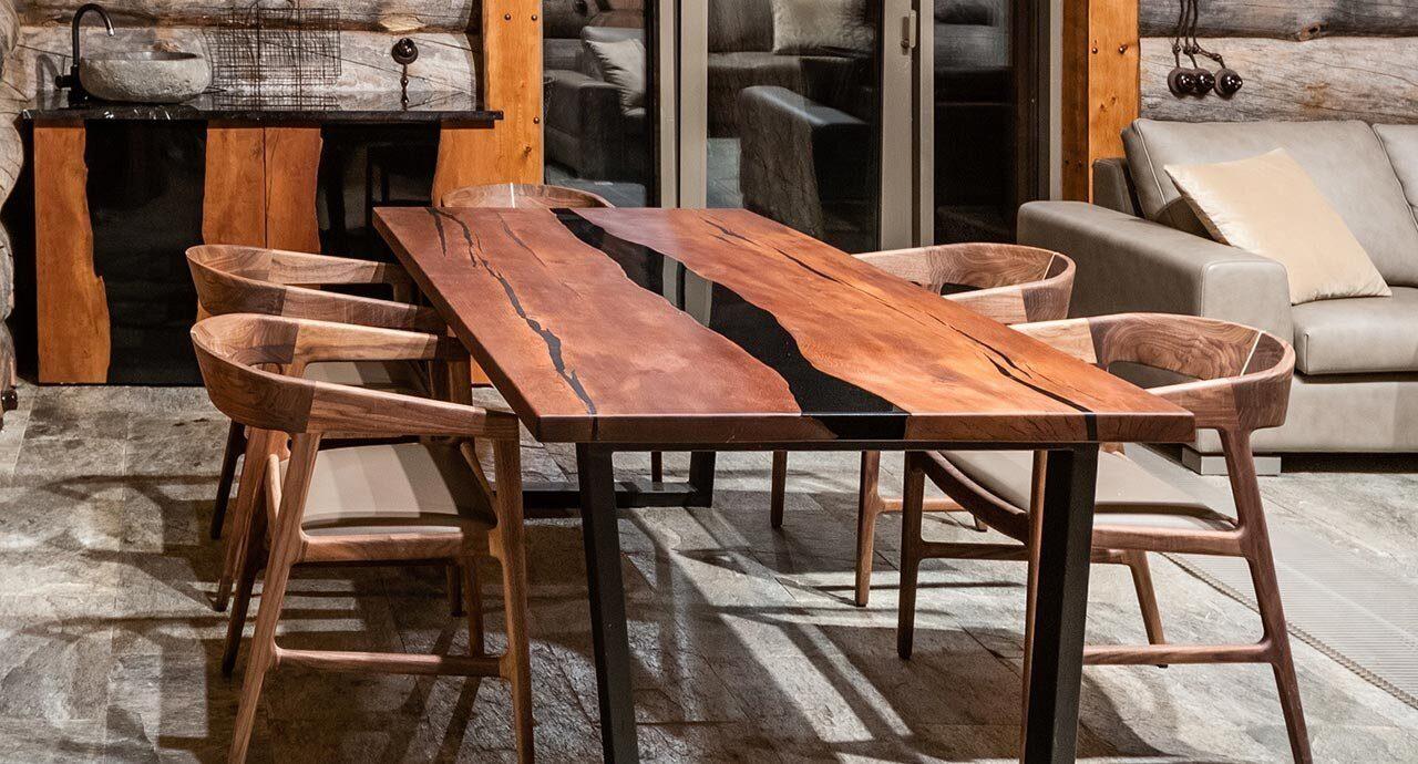 Индивидуальная мебель из массива дерева для бани